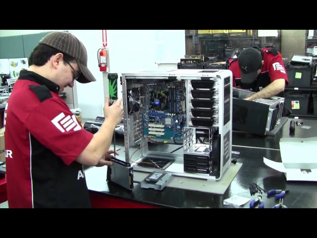 HotHardware's Two and A Half Geeks Webcast MainGear Factory Tour