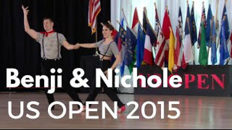 Benji Schwimmer Nicole Clonch US Open Swing Dance Championships 2015