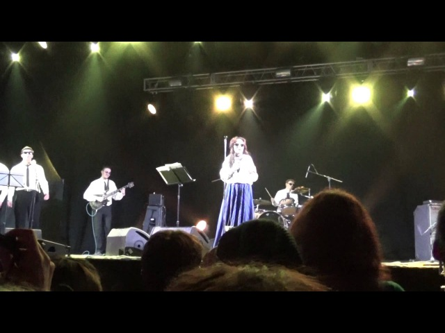 Жанна Агузарова - Над тобою ярко горит звезда live Moscow, ray just arena club 2015.05.15