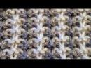 Двухцветный узор спицами patterns for knitting