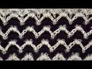 Узор крючком барджелло полотно • Мастер класс по вязанию • Bargello blanket crochet stitch