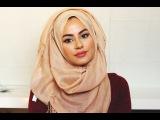 THREE EASY HIJAB STYLES Хиджаб стиль мусульманка как надевать одевать завязывать повязывать палантин