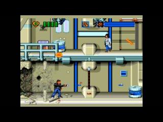 Time Trax (genesis prototype) Gameplay