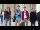 Academic Choir of PetrSU. Flashmob @ National Art