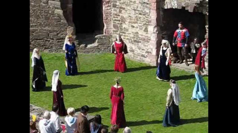 Conwy Castle Medieval Dance