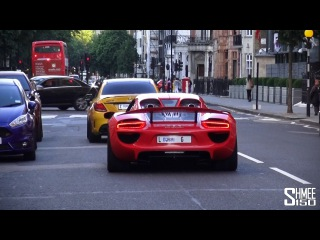Arab Supercars Arrive in London for Summer 2015