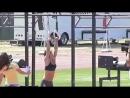 Camille Leblanc-Bazinet - Slow Motion Muscle Ups