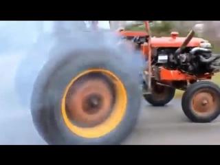что будет с трактором если поставить на него турбину 360p