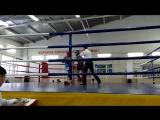 Дауренов Ильяс (Синий угол) - Второй бой (1раунд). Астана - 27.11.2015