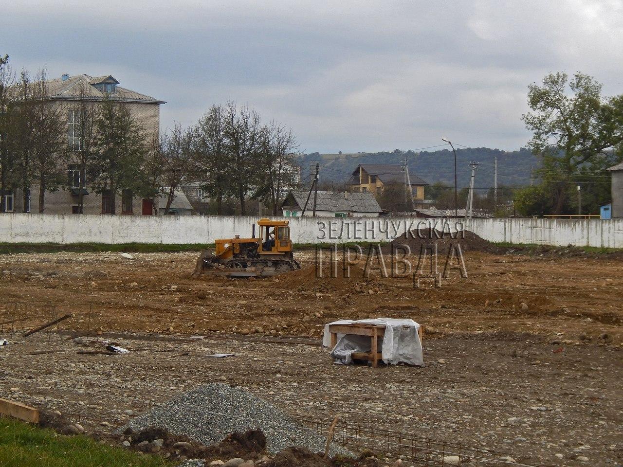 Каким будет стадион станицы Зеленчукской после «глобальной» реконструкции