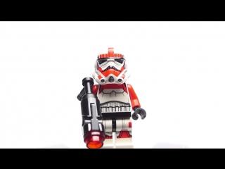 Лего Звездные войны 75134 Обзор на русском! LEGO 75134 GALACTIC EMPIRE BATTLE PACK Review
