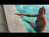 Упражнения в Бассейне для Похудения. Как Похудеть на Отдыхе. Елена Силка