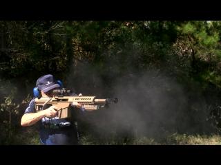 6 выстрелов за 1 секунду из винтовки Barret .50 калибра