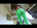PornoStar ∞ August Ames в обтягивающих лосинах, упругая попка, красивая дева fitnes girl spandex loads hot leggins ass hard anal