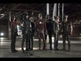 Флэш и Стрела - русский трейлер (The Flash & Arrow) слияние сериалов