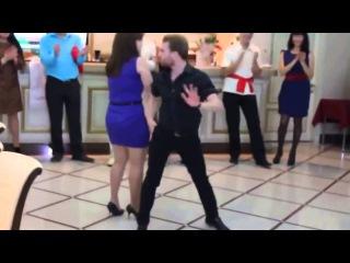 Танец мачо Прикол на свадьбе