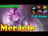 Dota 2 - Meracle- 6900 MMR Plays Templar Assassin Vol 8 - Ranked Match Gameplay!