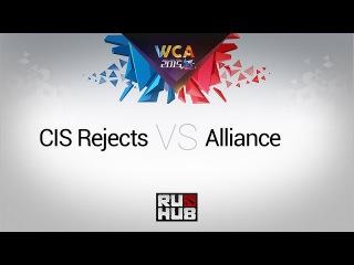 CIS Rejects - Alliance, WCA EU Open Qual 1/2, game 1