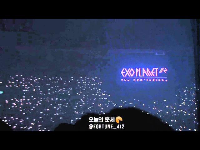 160320 EXO'luXion[dot] EXO-L ENCORE EVENT ANGEL, 엑소엘의 떼창 이벤트 너의세상으로♡ (엑소와 함께라면 어46
