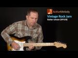 Vintage Rock Jam Guitar Lesson - Robin Trower, Dave Mason - EP123