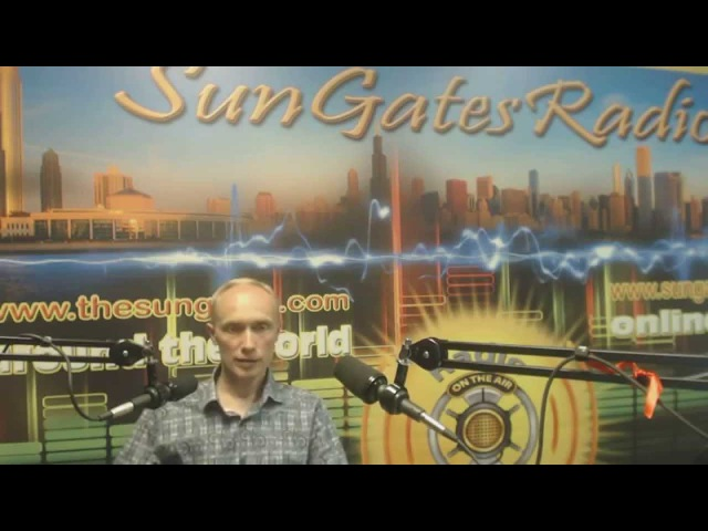 Ценности жизни в Чикаго. Интервью Олега Гадецкого на радио SunGates в Чикаго (США). Часть 1