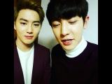 "EXO_CY on Instagram: ""안녕하세요 EXO 찬열입니다!! 우선 아이스버킷 챌린지에 이어서 해피 &#49"