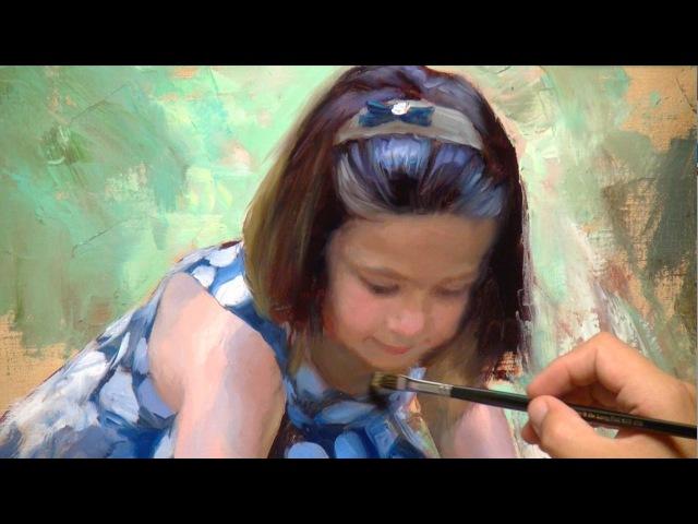 Painting in oil Little Pond of Marimurtra. Vladimir Volegov