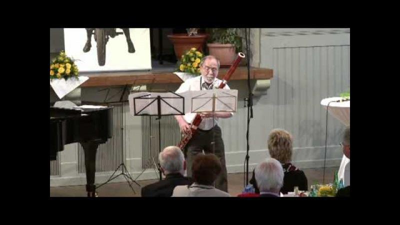 Valeri Popov bassoon live at the Püchner jubilee celebration
