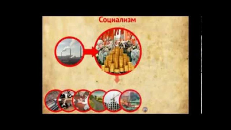 Социализм против Капитализма. Просто и понятно.