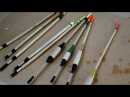 Making Fishing Floats (bobbers) on a Hand Cranked Lathe