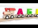 Мультик песенка про паровозик для детей Паровоз алфавит Учим буквы