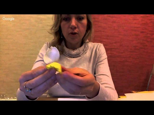 Фоамиран - Урок 2 Школы мастеров фом-флористики