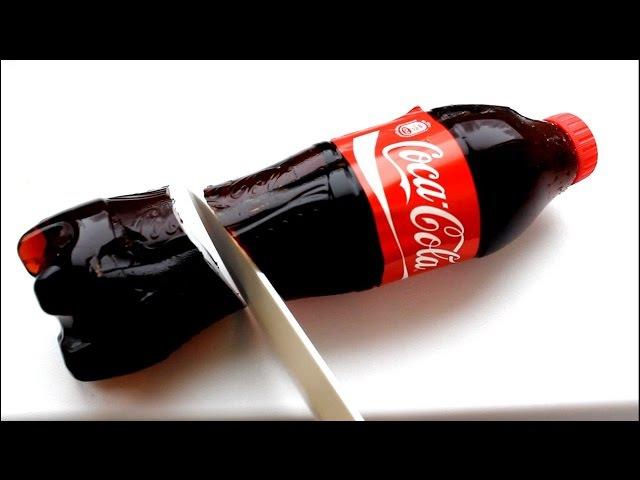 Можно ли сделать Желе из Кока колы в домашних условиях? Can I make jelly Coca Cola at home?