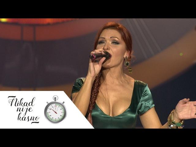 Biljana Prokic - Pokraj puta rodila jabuka - (live) - Nikad nije kasno - EM 14 - 24.01.16.