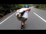 Longboarding Peanut Butter Downhill