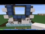 #9. Как сделать механическую дверь 3x3 в майнкрафте!