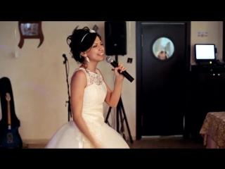 Невеста поет жениху на свадьбе. Алина Саган - Танго (Автор А.Красновская