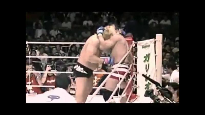 Брутальный бой. Дон Фрай против Йошихиро Такаяма.