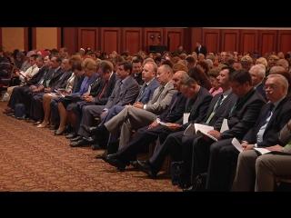 Видеорепортаж с пленарного заседания III Республиканского форума социально-ориентированных некоммерческих организаций при участи