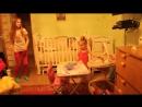 Лизочка танцует с Ксюшей! 30.10.2015 г.