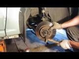 Замена тормозных дисков на Рено Логан (Renault Logan) и Лада Ларгус