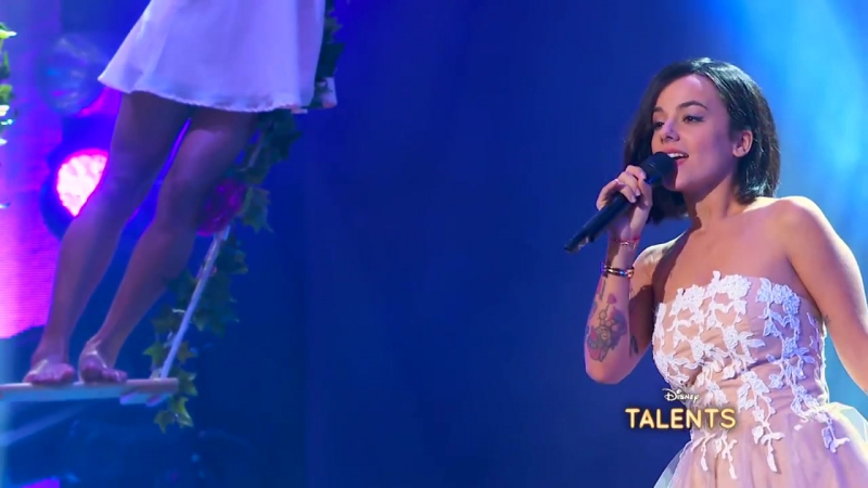Alizee - Tendre reve (Disney Talents Live)