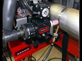 Орбитальная сварка труб с AVC Oscillation, AXXAIR