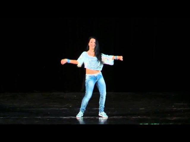 Belly dance танец живота в джинсах