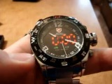 Мужские кварцевые часы-хронограф Shark bullhead