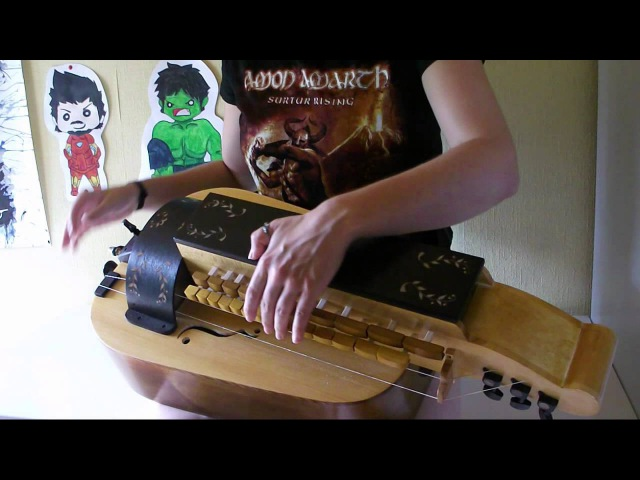 Eluveitie Brictom hurdy gurdy cover
