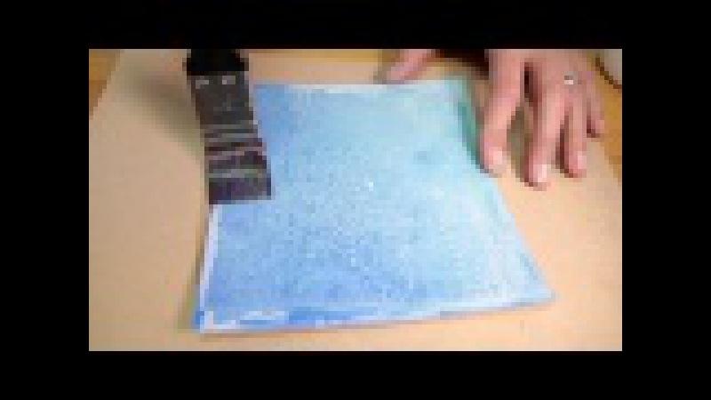Kroma Crackle Basic Technique