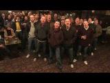 Hooligans singing Truly, madly, deeply of Savage Garden. - PUMA