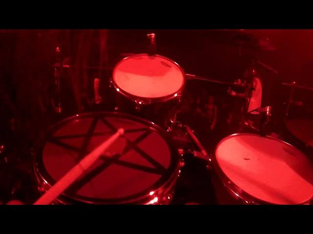Aaron Kitcher Drum Cam BLACK TONGUE L'appel du Vide OFFICIAL HD