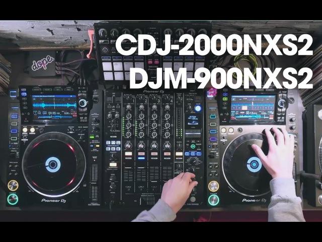 Alex Moreno testing the Pioneer CDJ-2000NXS2 DJM-900NXS2